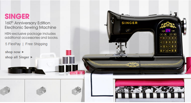 HSN Vintage Inspired Singer 40 Anniversary Edition Sewing Machine Magnificent Hsn Com Singer Sewing Machines