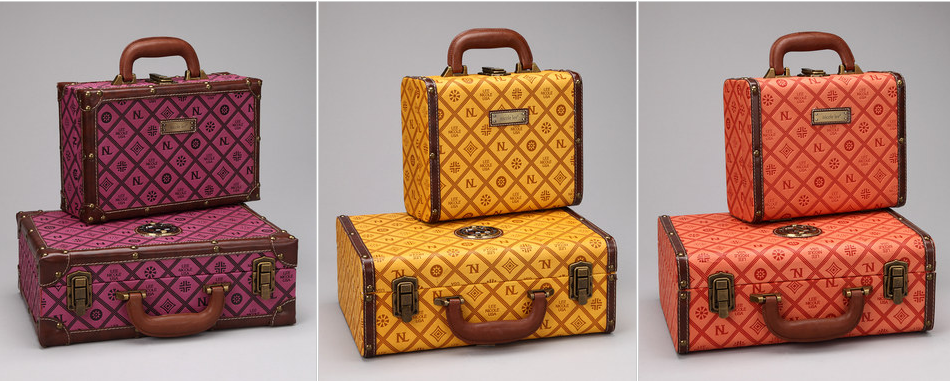 Zulily: Vintage Inspired Nicole Lee Initials Box Suitcase Set (of ...