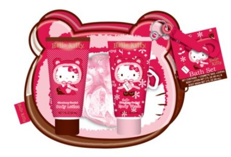 Targetcom Hello Kitty Bath Set 9 Manicure Set 6 Free
