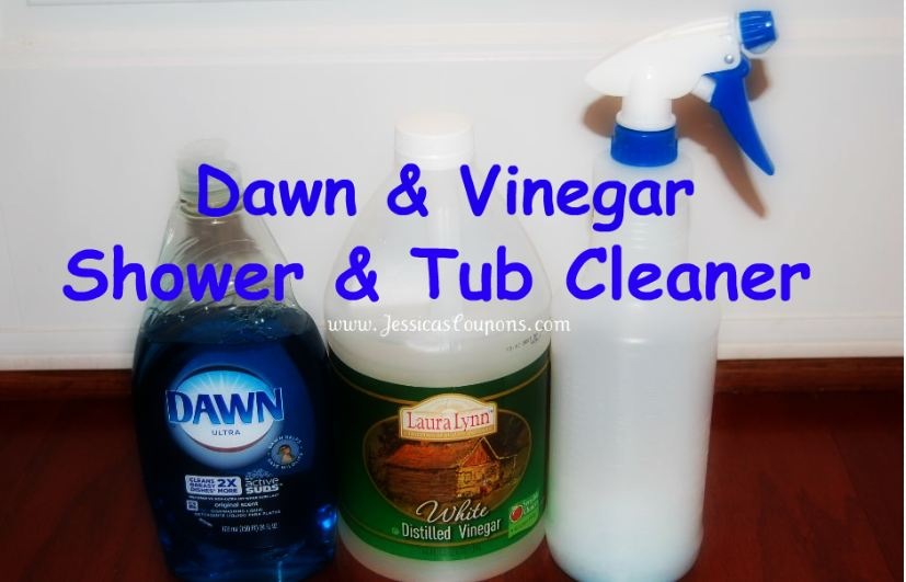 Dawn Vinegar Tub And Shower Cleaner