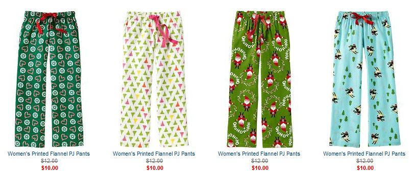 there are several sales going on today i noticed womens pajama pants are on sale for 10 each - Christmas Pajamas Old Navy