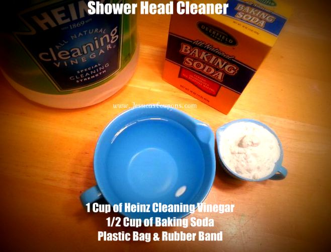 My Rockstar Shower Head Cleaner Other Natural Cleaning Tips With Heinz Cleaning Vinegar