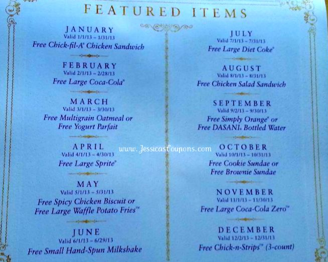 April Calendar Card Chick Fil A : Win it winesday chick fil a calendar with card