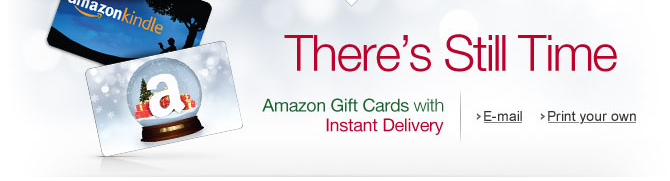Amazon eGift Cards: Send Via Email or Print & Gift