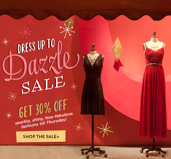 ModCloth: 30% Off Holiday Party Attire Ends Tonight