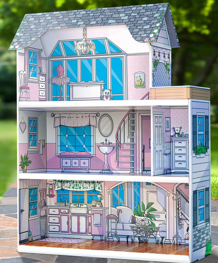 Pink Dream Dollhouse By Toy Evolution ONLY 2999 Reg 100