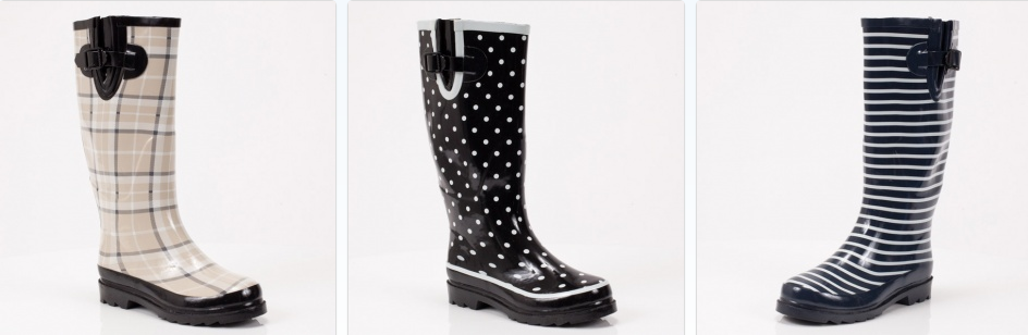 TOTSY: Women's Rain Boots from $7.50   FREE Shipping for New ...