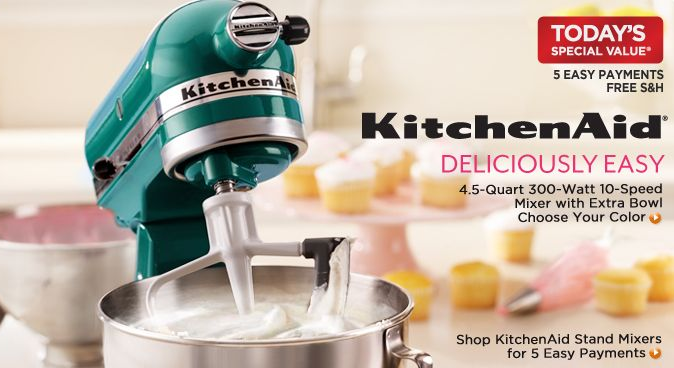 Qvc Com Kitchenaid Stand Mixer 12 Color Options 269 96