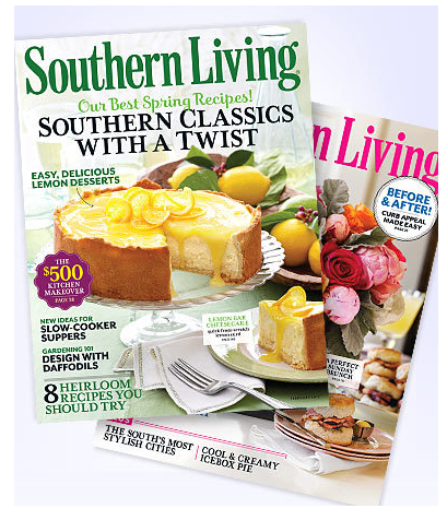 About Southern Living. Southern Living has 21 coupons today! Now we add some special sale for you! Take the time to use it, it will bring great benefits to you.